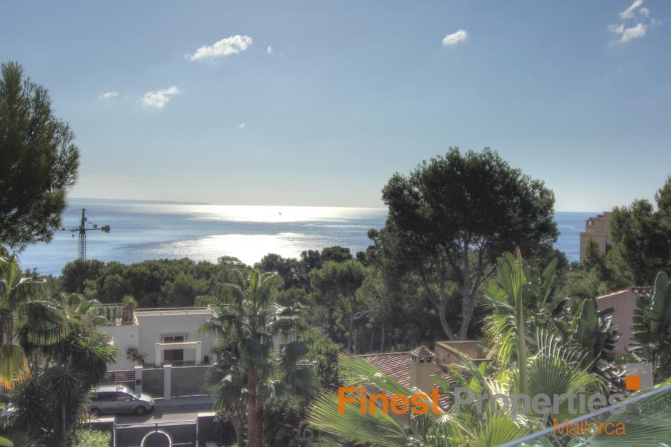Modern sea view villa in Cala Vinas for sale - Picture 1