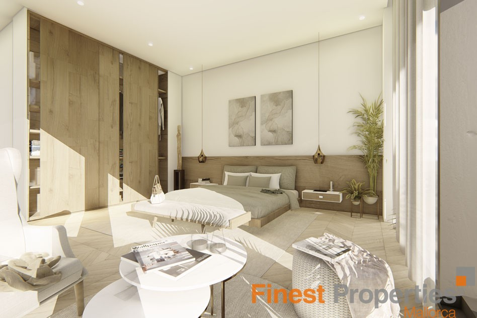 Projected modern villa for sale in Cala Vinyas - Picture 3