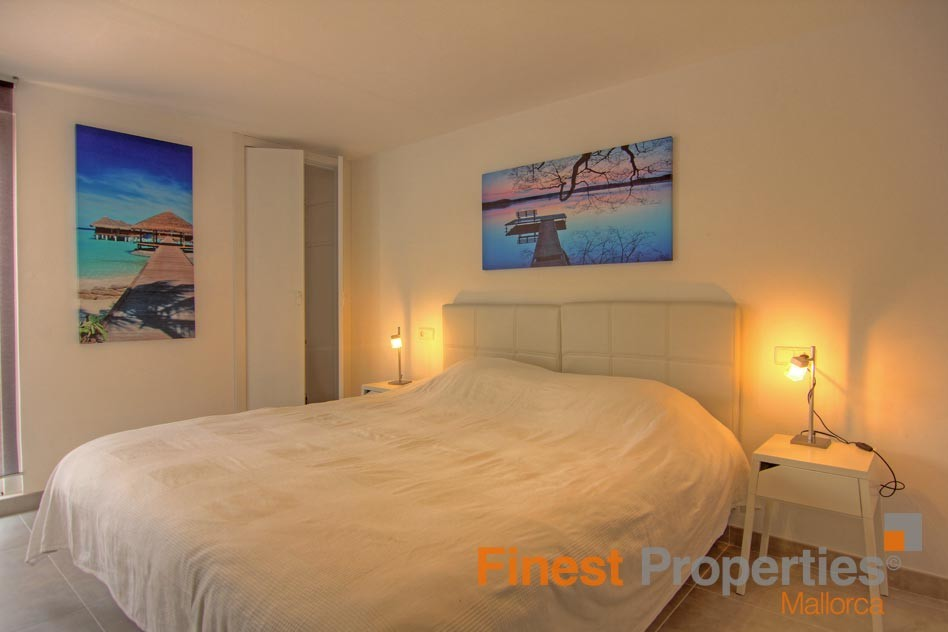 Modern apartment in 1st sea line in Magaluf for sale - Picture 10