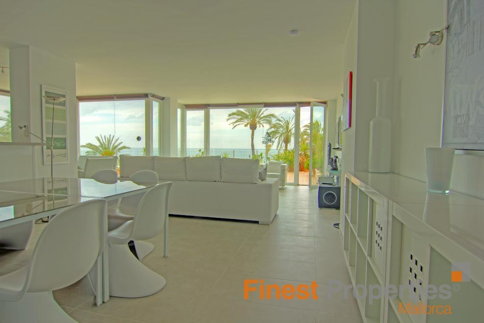 Modern apartment in 1st sea line in Magaluf for sale - Picture 4