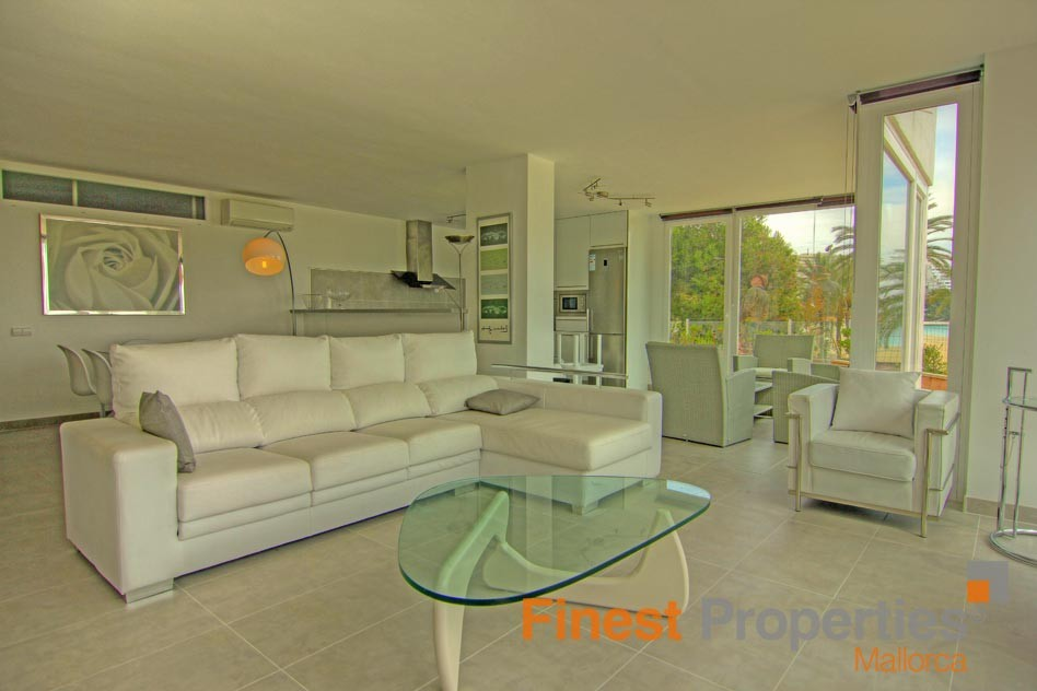 Modern apartment in 1st sea line in Magaluf for sale - Picture 5