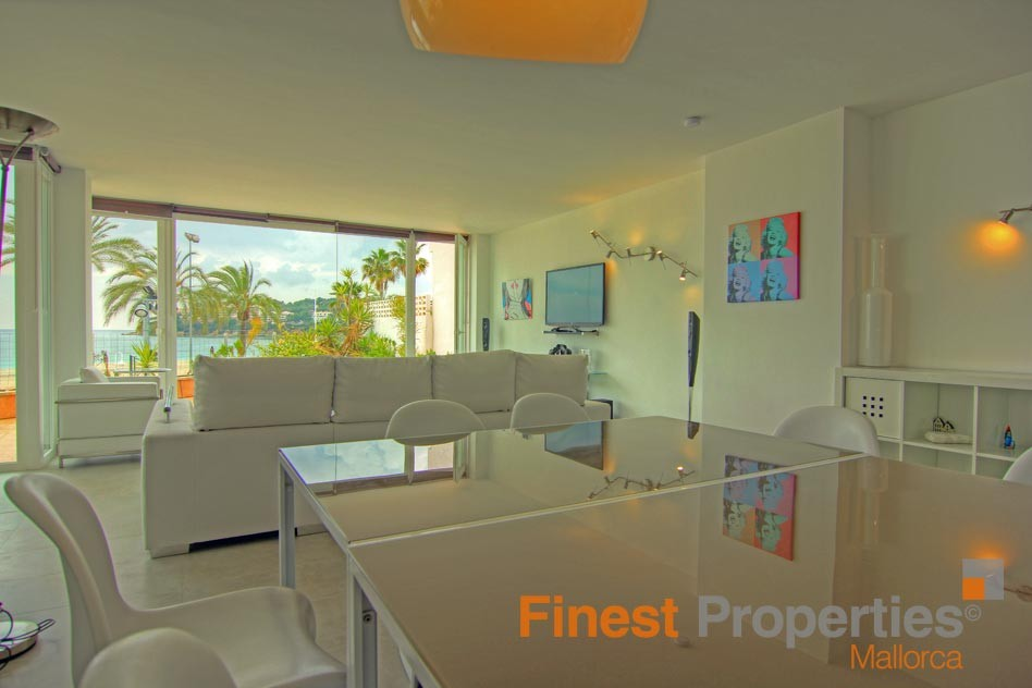 Modern apartment in 1st sea line in Magaluf for sale - Picture 7