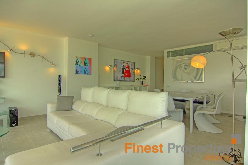 Modern apartment in 1st sea line in Magaluf for sale - Picture 9